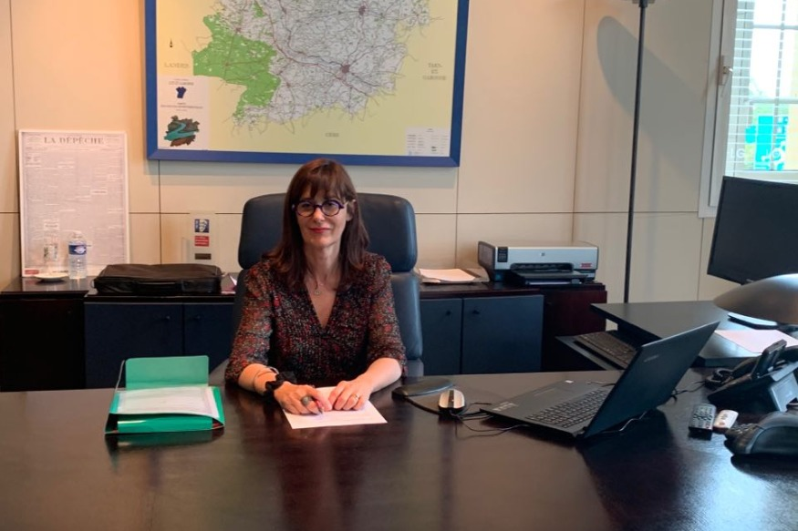 MARMANDE : REACTION DE SOPHIE BORDERIE, PRESIDENTE DU CONSEIL DEPARTEMENTAL